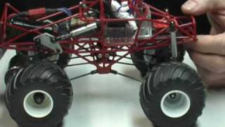 1/25 Scale Monster truck Part A BigFoot and Grave Digger