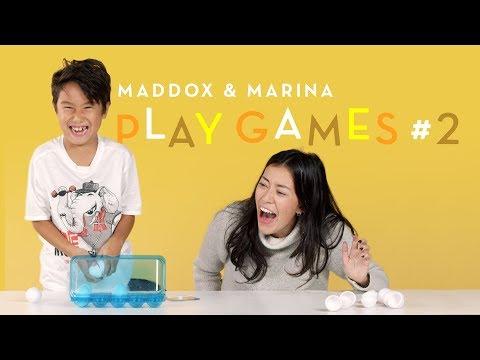 Maddox and Marina Play Games #2 | Kids Play | HiHo Kids