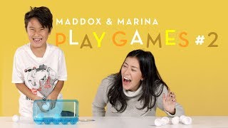 Maddox and Marina Play Games #2 | Kids Play | HiHo Kids