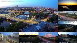 Россия Омск прямой онлайн эфир. Siberia Russia Omsk live stream 24/7.