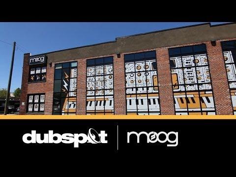 Dubspot @ Moogfest 2014: The Moog Music Factory Tour, Asheville, NC