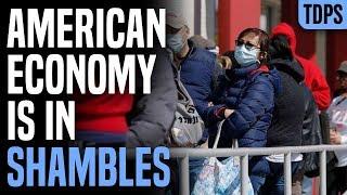 BREAKING: GDP Down 5%, 41 Million Jobs Lost