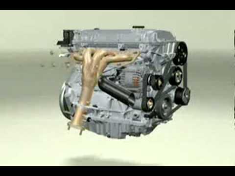 petrol engine 4 in-line