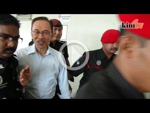 Wartawan tanya khabar, saya baik jawab Anwar