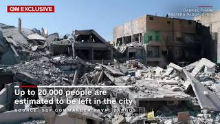 Video shows parts of ISIS' de facto capital in ruins