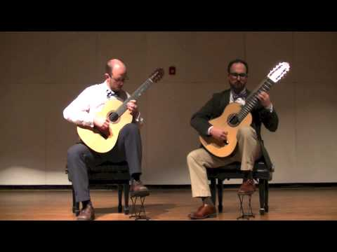 Athens Guitar Duo - I. Zagoresios; Greek Suite (John Duarte)