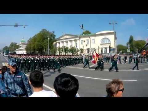 Саратовский Военный Институт Национальной Гвардии России после Парада Победы 2019