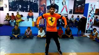Just Do it Chance Pe Dance #Popping #hiphop Dance Choreography by D4 Dance Academy