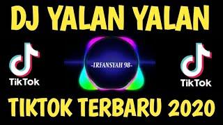Download DJ TIKTOK TERBARU || YALAN YALAN || FULL BASS REMIX