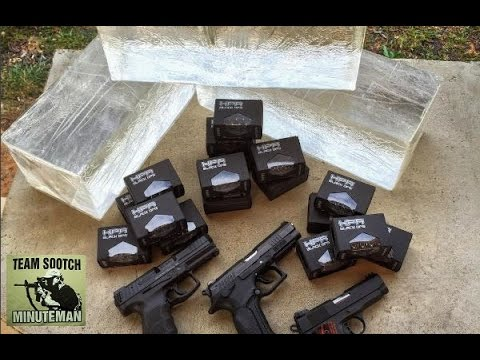HPR Black ops Frangible Ammo test