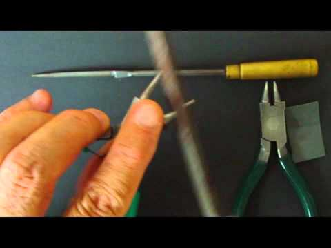 How to Make the Ultimate pair of Round Nosed Pliers for making Personalized Wire Names