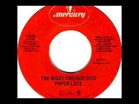 Paper Lace - The Night Chicago Died (1974)