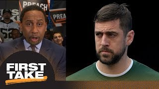 Stephen A. Smith says Aaron Rodgers should demand to be traded from Packers | First Take | ESPN