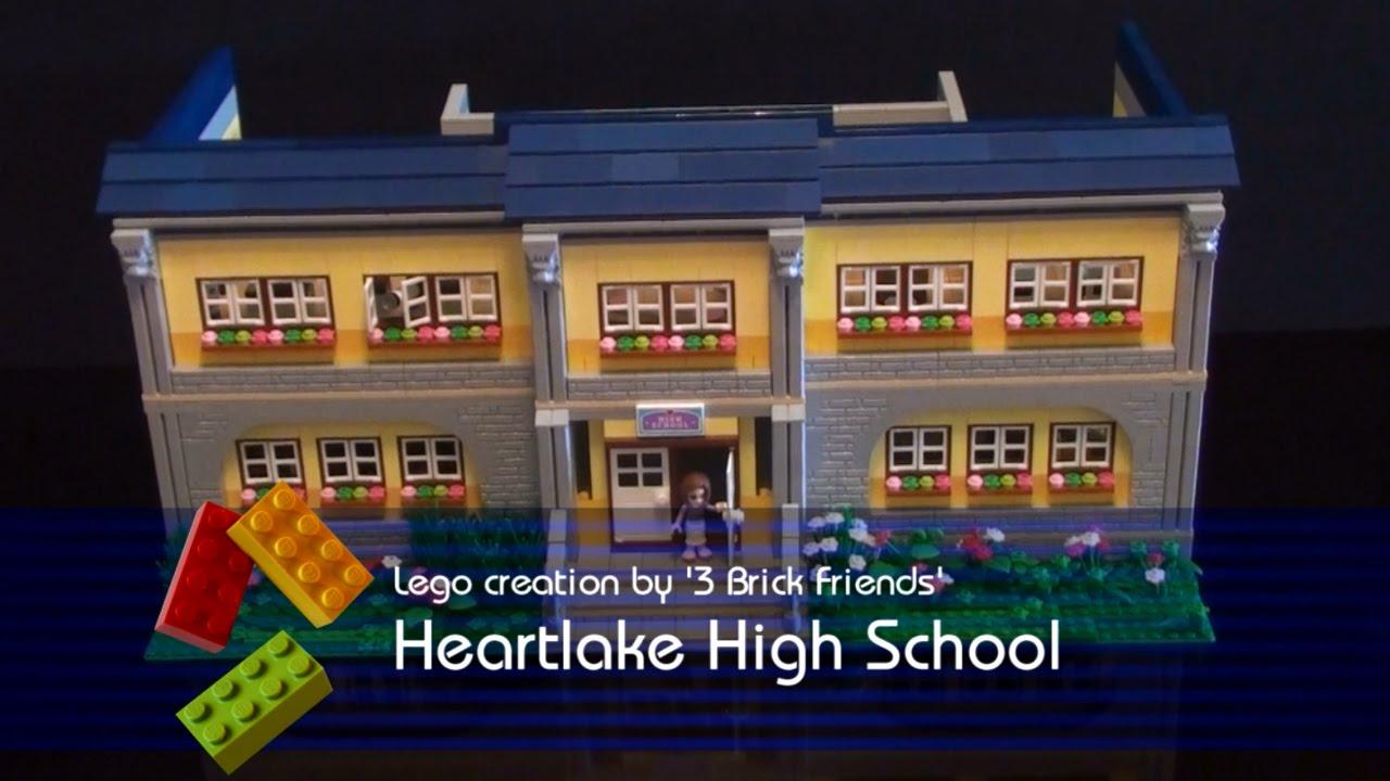 Lego Friends Heartlake High School Lego Friends 41005 Youtube
