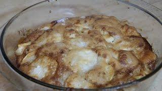 Рецепт шарлотки-лентяйки / Быстро и легко