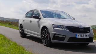 Review and Virtual Video Test Drive In A 2017 Skoda Octavia 245 VRS DSG 5 Door