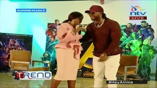 Redsan keeping it 'Rio' || #the Trend