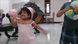 Anju and Yehali performing to Bunny song...