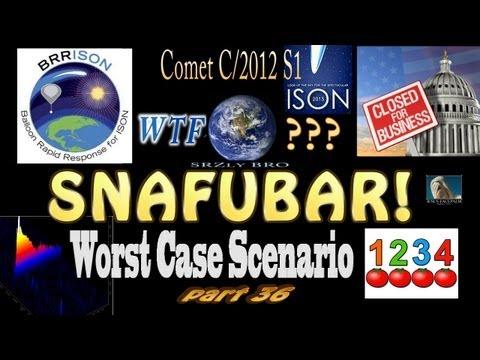 Comet ISON - Worst Case Scenario - SNAFUBAR