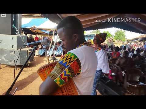 Oheneba E.K live band, storming Ivory Coast