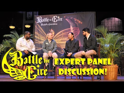 Battle For Eire Expert Panel Discussion Busch Gardens Williamsburg Insider Info & More!