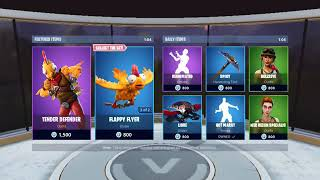 Fortnite NEW Taro and Nara Skins | Gatekeeper Pickaxe & Flying Carp Glider | Item Shop 11/24/18