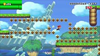 【Super Mario Maker】クリア率0.01%(1/81445)50…