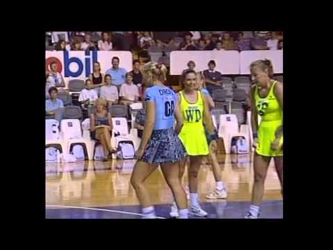 1996 NETBALL GOAL ATTACK TV Episode 5 - SYD Cenovis v PERTH Freemantle & ADEL Garville v Contax