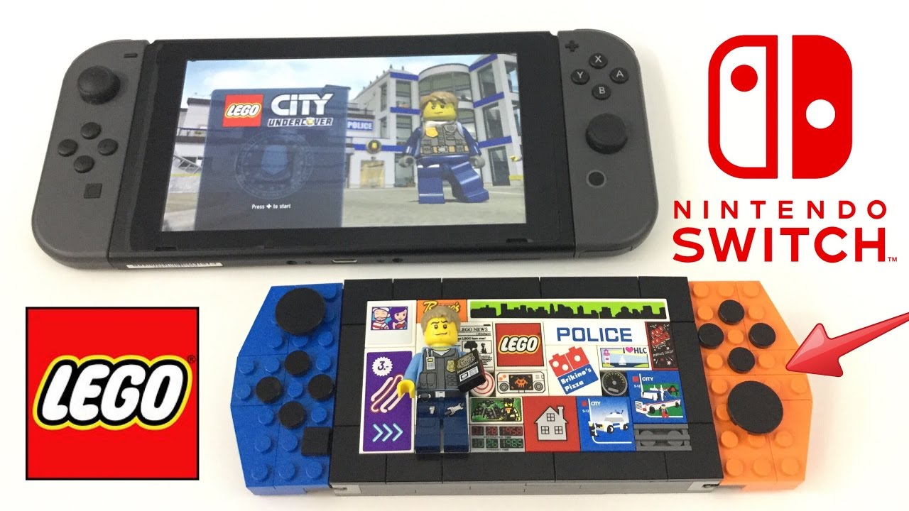 Lego Nintendo Switch Moc Youtube