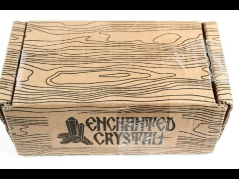 Enchanted Crystal August 2016 Unboxing– Rock Subscription Box