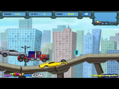 Game dua xe oto dia hinh - Game đua xe transformer vượt địa hình