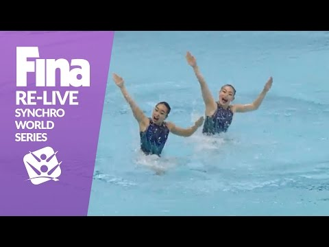 RE-LIVE | Day 2 - Tokyo | FINA Synchronised Swimming World Series 2017