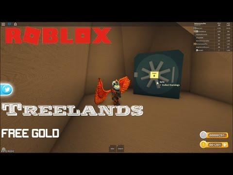 Roblox Treelands How To Get Free Gold No Robux Youtube