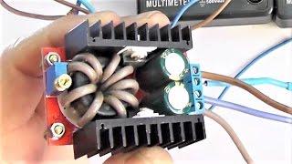 Фото Повышаем мощность и КПД преобразователя DC DC Step Up доработка и тест питание светодиода 100 ватт