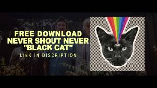 Never Shout Never - Black Cat ( FREE DOWNLOAD )