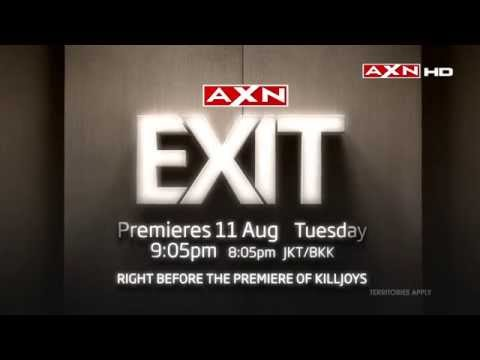 Reality Game Show - EXIT Premieres On AXN!