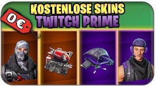 LEGENDARY TWITCH PRIME SKINS FREE | Fortnite Season 3 German German