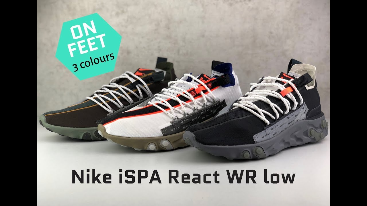 Nike iSPA React WR low [3 colours] | ON