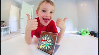 Father & Son PLAY DART BLAST! / Mini Dart Set!