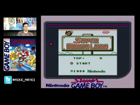 Super Mario Land (Game Boy 1989) Mike Matei live stream