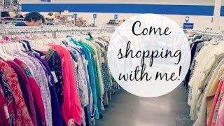Vlog: Shopping at the New Goodwill!