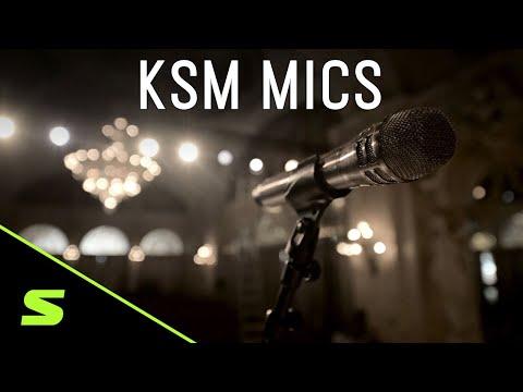 Micro phòng thu Shure KSM44Acao cấp 8