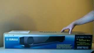 Yamaha ATS-1010 Sound Bar - Review & Unboxing - Surround Sound Home Theater Speaker System.