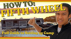 FULLTIME RV Family: How to Setup your 5th Wheel