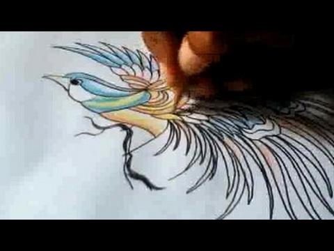 Ayo Menggambar Burung Cenderawasih Yang Di Modifikasi