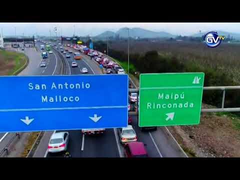 SENADOR CHAHUAN POR TREN RÁPIDO VALPARAÍSO SANTIAGO, 23 DE ABRIL 2018