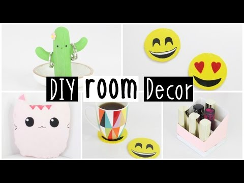 more diy room decor 2016 four inexpensive easy ideas 11448 | hqdefault