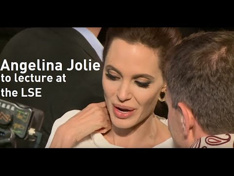 Angelina Jolie becomes university lecturer at London School of Economics