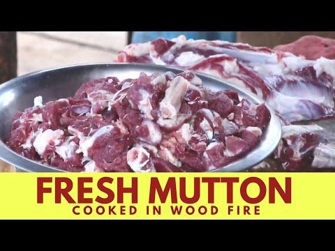 15 Pounds Lamb Meat  – Mutton Cooked  by Bargur Famous Chandai Kari Hotel – Indian Street Food