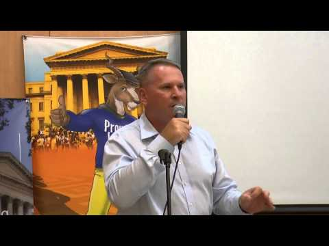 Colonel Richard Kemp CBE - Former British Forces Commander - Talk in Jerusalem : May 2015